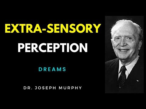 ESP - Extra-sensory Perception - Dreams - Joseph Murphy - Talk - The Power Of Your Subconscious Mind