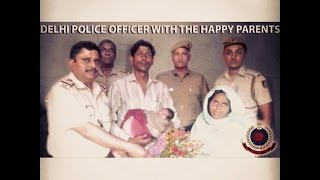 Child Born in Delhi Police PCR Van