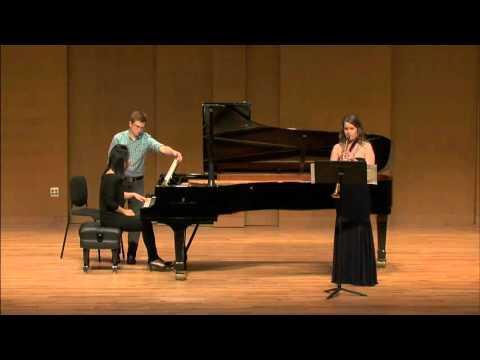 Lunde, 'Alpine' Sonata - Soprano Saxophone and Piano