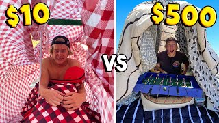 $10 VS $500 FORTS OVERNIGHT! *DOLLAR STORE ITEMS ONLY*