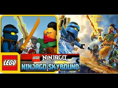 """Let's Play """"LEGO Ninjago Skybound"""" FREE GAME for iOS and ..."""