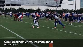 Wide Receiver Tips: Learn how Odell Beckham Jr. Beats 1 on 1