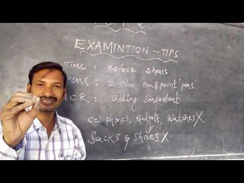 Group 2 Examination Tips