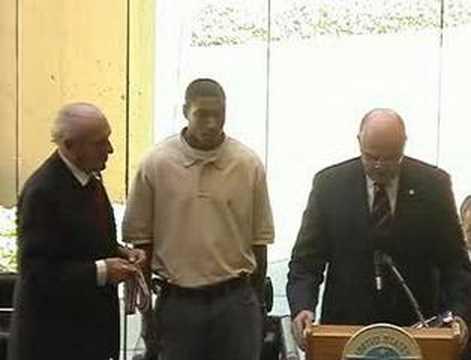 Academy Hosts Celebration to Honor Quarterback Patrick White