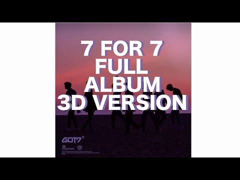 GOT7 - 7 FOR  7 FULL ALBUM 3D