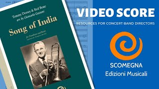 SONG OF INDIA - Tommy Dorsey & Red Bone, arr. Giancarlo Gazzani
