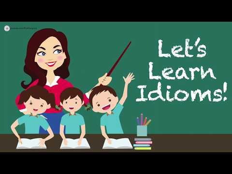 English Lesson 10 Common Idioms Examples Meanings Youtube