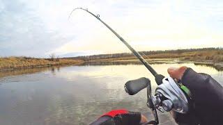 ОГО ТАК ВОТ ГДЕ ВСЯ ЩУКА ПЕРЕД ЛЕДОСТАВОМ Рыбалка на спиннинг в Ноябре