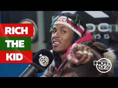 Rich The Kid Claims Leader of Hip-Hop's New Generation on WHOS NEXT