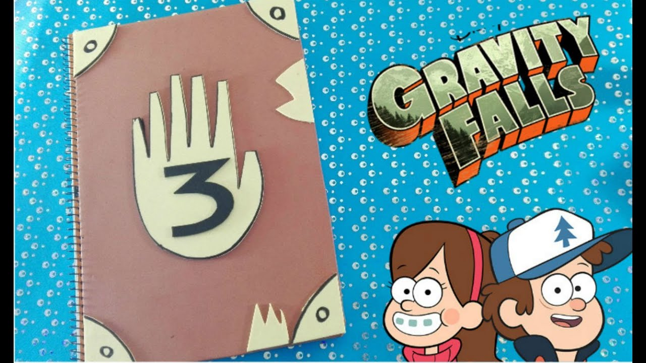 Gravity Falls Cuaderno Creating My Own Gravity Falls Notebook