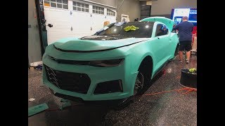 Got my 2017 ZL1 Wrapped Tiffany Blue!!!