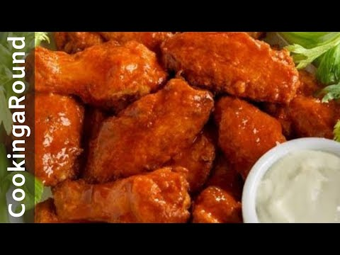 Buffalo Chicken Wings - Spicy  (Easy)(Fast)