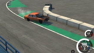 BeamNG Ebisu Jump Drift