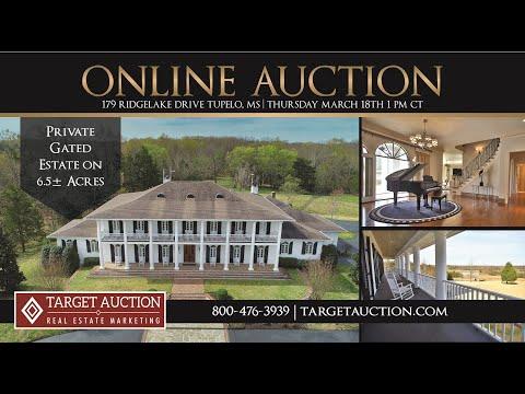 Target Auction Company Announces Auction Sale of a Luxury Estate...