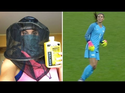 Hope Solo Gets Taunted By Thousands Screaming 'Zika!' at Olympic Match In Rio