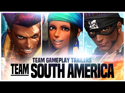 THE KING OF FIGHTERS XIV: Team South America