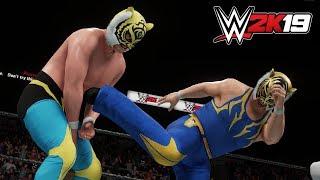 WWE2K19 PC版で作成しました。CPU同士による対戦です。