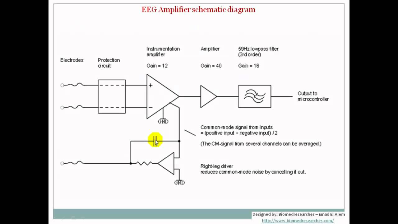 Eeg Circuit Diagram | Understanding Eeg Part8 Eeg Localization And Amplifiers What Is