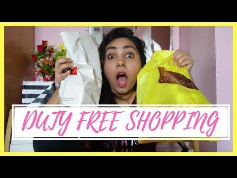 #SnehaAtSG Duty Free Haul (Banila Co, Victorias Secret, So Chocolate) | Sneha Arora