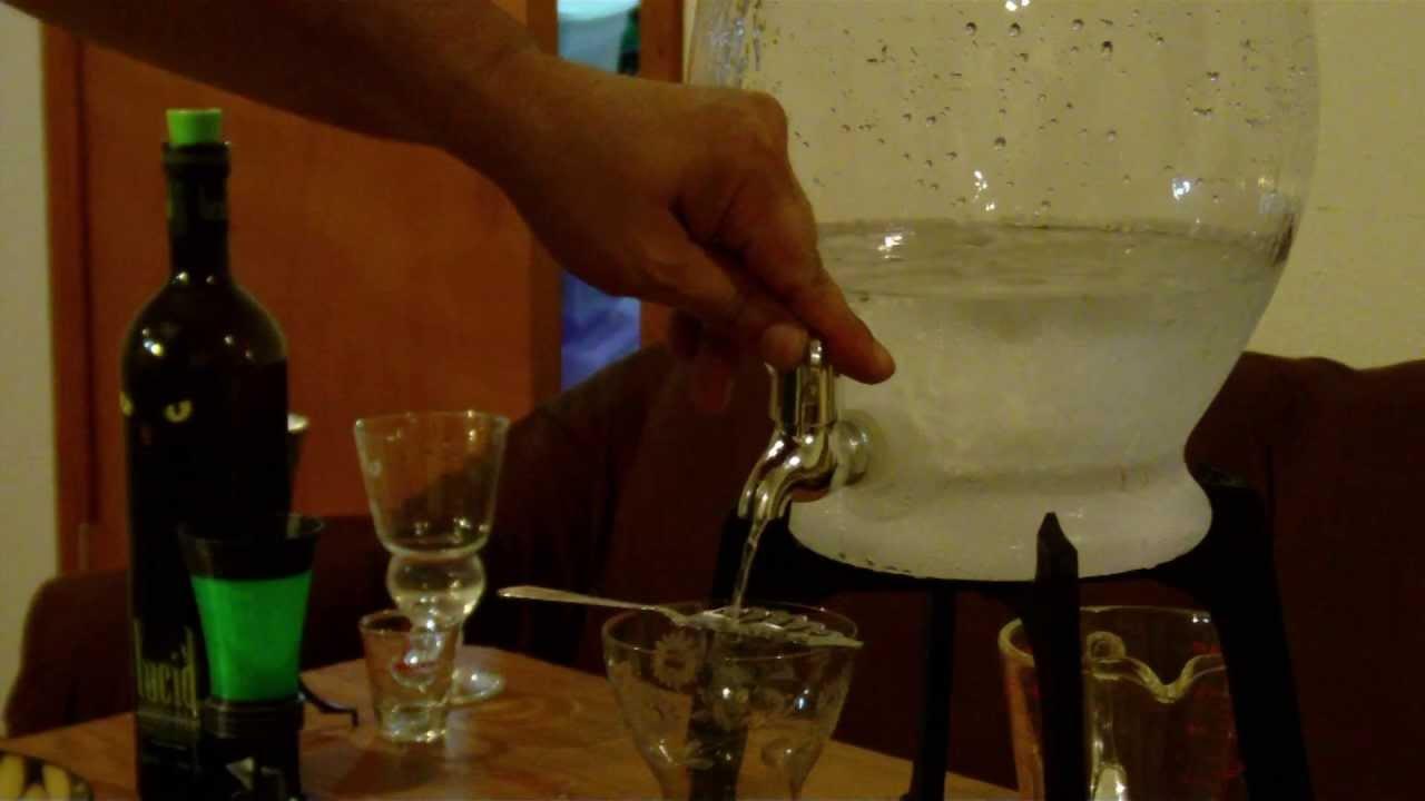 3D Printed Absinthe Fountain