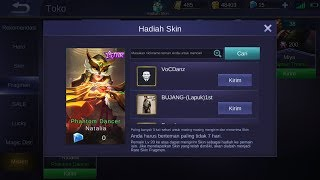 [TUTORIAL] How to Gift RARE SKINS - BUG SKIN MOBILE LEGEND