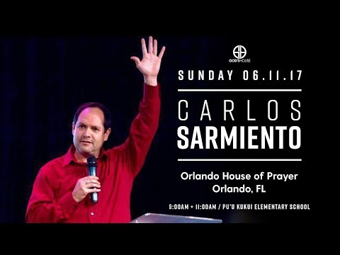The Anointing | Carlos Sarmiento