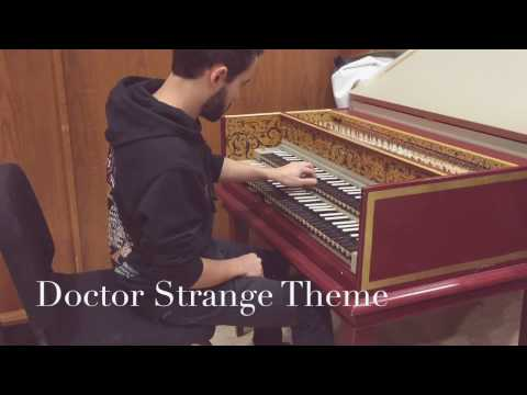 Doctor Strange Main Theme - Juan P. Dussan (Harpsichord) [Michael Gacchino]