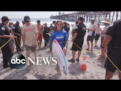 Meet the youngest athlete to ever qualify for the World Surf League Championship Tour