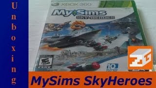 Unboxing (Craudião) - MySims Sky Heroes (Xbox 360)