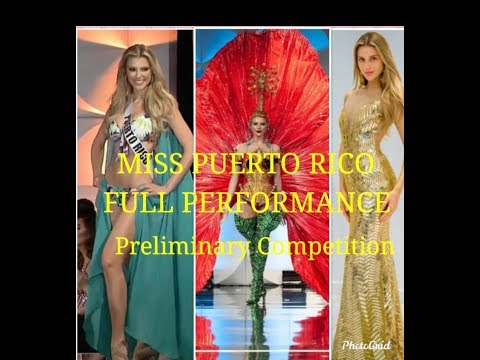Miss Universe 2019  Best in Preliminary Competition/ Miss Puerto Rico?
