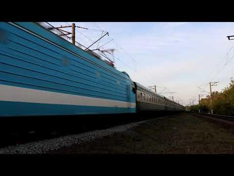Электровоз ЭП1М-524 с поездом №369Щ Баку - Киев