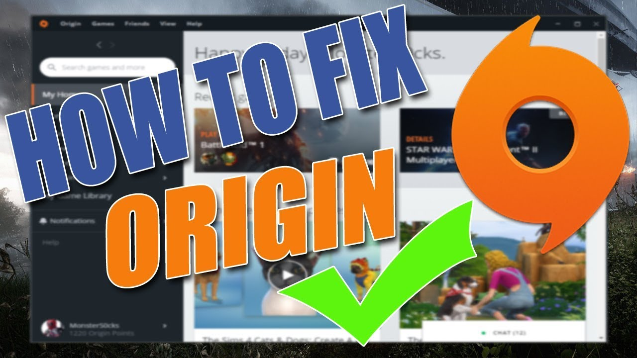How To Fix Origin All Errors! | (Fresh New Origin Install)