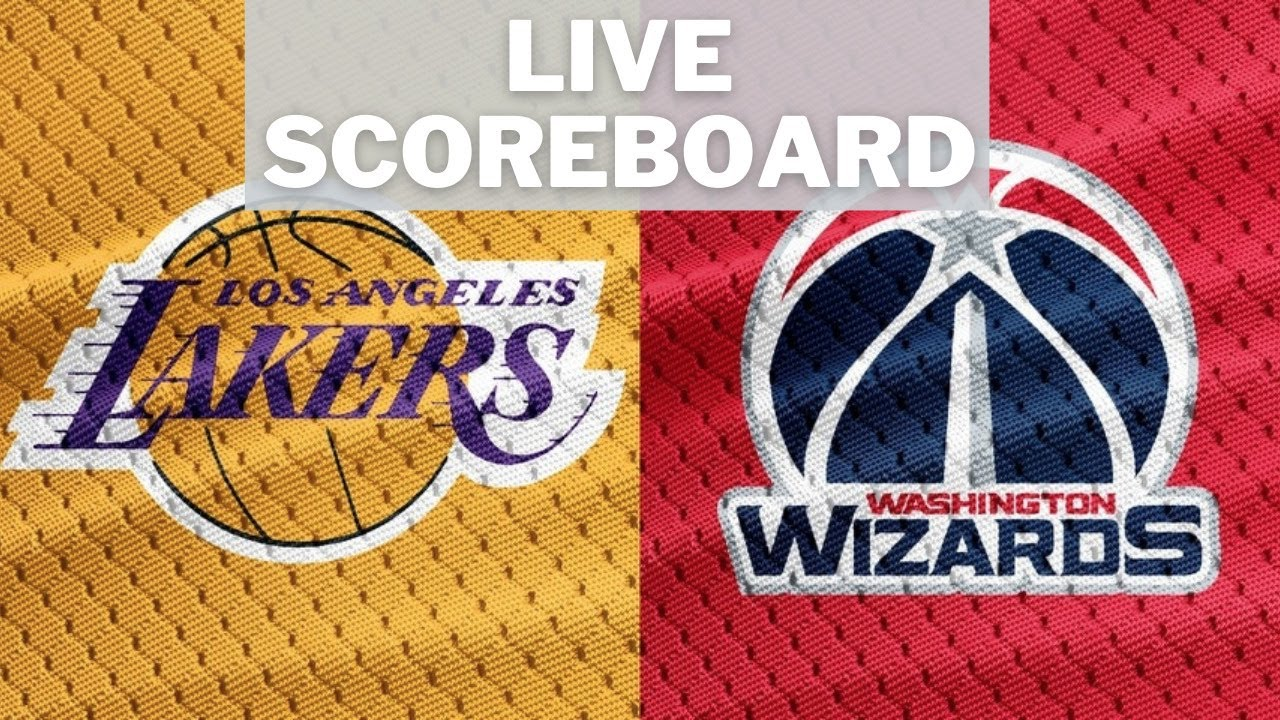 Washington Wizards vs. Los Angeles Lakers LIVE Scoreboard 22.02. [2020/21  NBA Regular Season] - YouTube