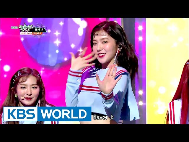 Red Velvet - Red Flavor | 레드벨벳 - 빨간 맛 [Music Bank HOT Stage / 2017.07.21]