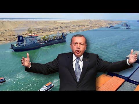 Зачем Турция копает канал из Черного Моря в Средиземное, новости из Турции