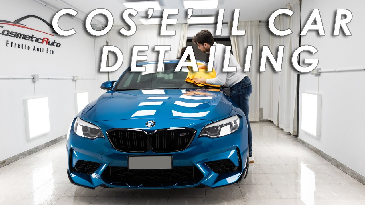 Cos è Il Car Detailing Bmw M2 Competition Eng Subs Youtube