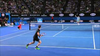 Tomas Berdych v Andy Murray highlights (SF) - Australian Open 2015
