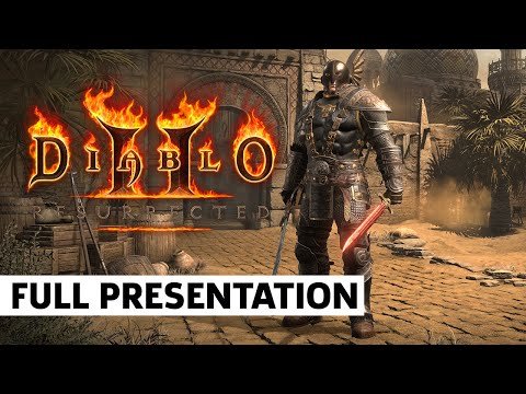 Diablo II: Resurrected Full Presentation   BlizzCon 2021