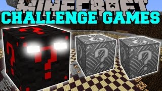 Minecraft: LUCKY BLOCK MONSTER CHALLENGE GAMES - Lucky Block Mod - Modded Mini-Game