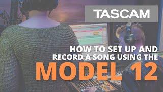 Video: Mixer Tascam Model 12