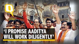 Uddhav Thackeray Supports Aaditya's Decision to Contest Elections | The Quint