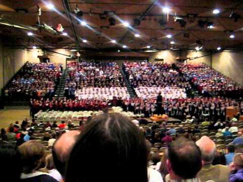 i hear america singing st olaf college choral day 2010 - St Olaf Christmas Festival