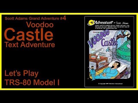 Voodoo Castle [TRS-80 Model I] Scott Adams Grand Adventure #4 - Full Solution