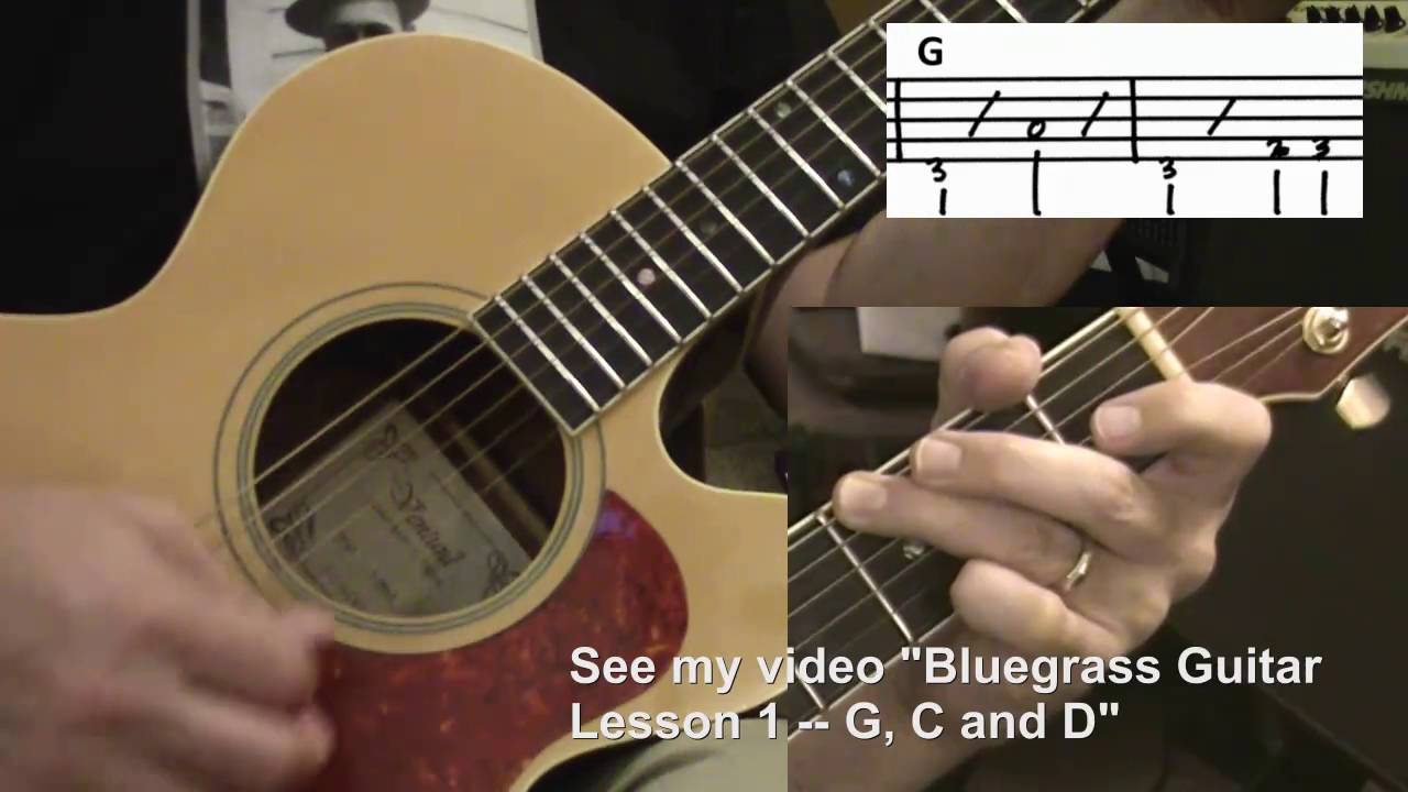 Dueling Banjos How I Play The Guitar Part Youtube