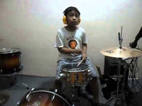 Reza Akmal - Lagu Online (Saykoji drum cover)