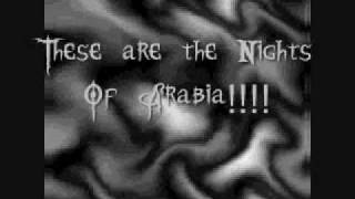 Kamelot - Nights Of Arabia (Lyrics)