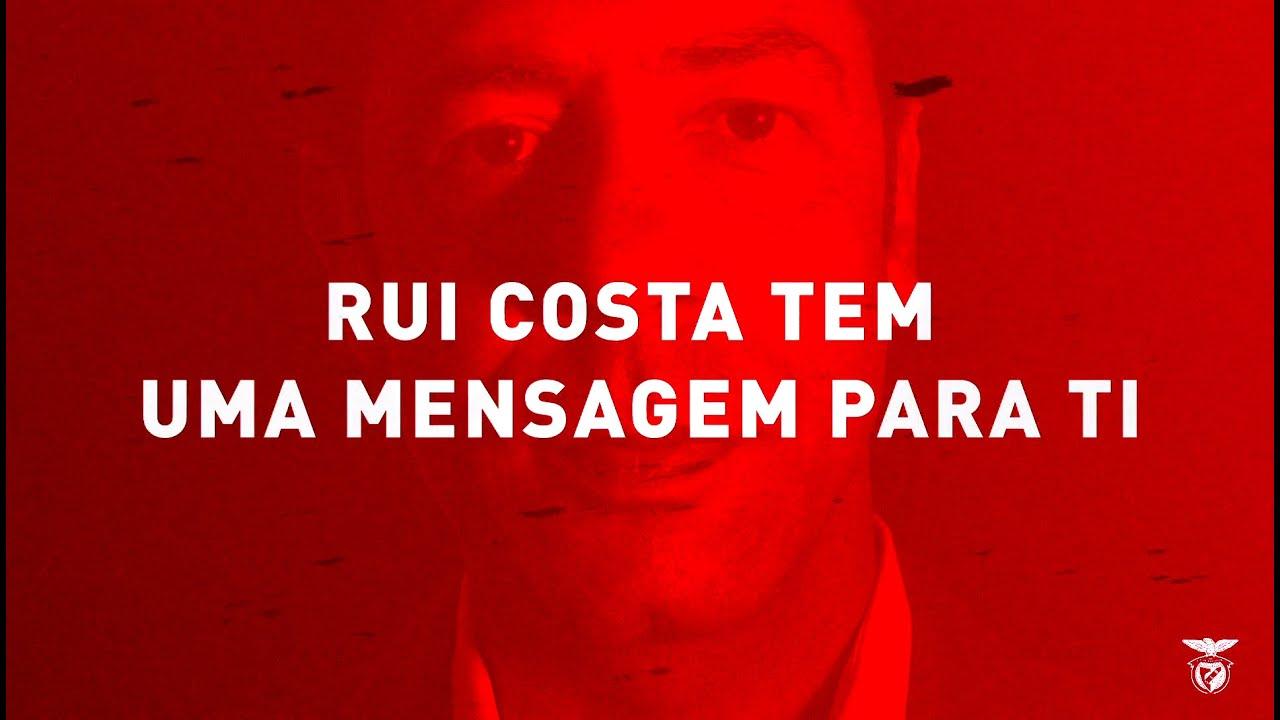 Rui Costa tem uma mensagem para ti.