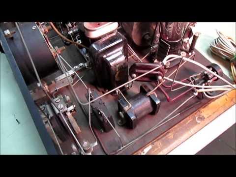 1920's Kit Built Superheterodyne Radio - Madison & Moore - Wildwood Castle