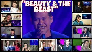 """BEAUTY AND THE BEAST"" REACTORS REACTION COMPILATION/MARCELITO POMOY/FINAL SONG"