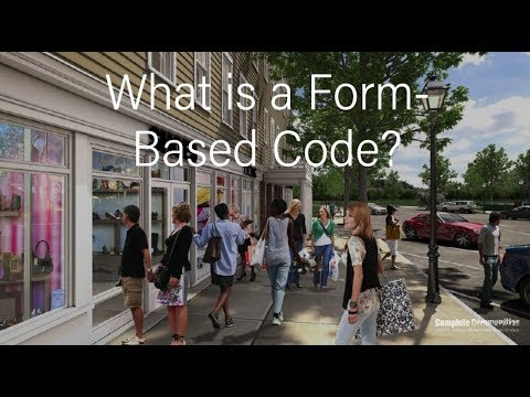 What is a Form-based Code?
